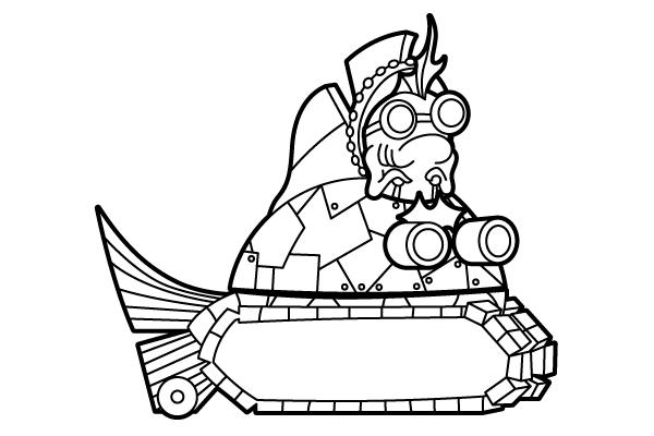 """Fish Tank Drawing """"fish Tank,"""" The Band of"""